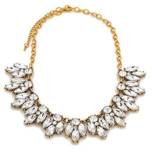 Naszyjnik kolia gold i diamond - gold i marki By milla