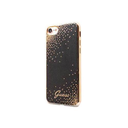 Guess Etui hard do iPhone 7 czarne (GUHCP7DOTBK) Darmowy odbiór w 20 miastach!, BRA004900