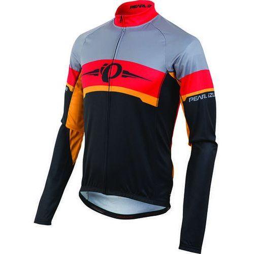 Pearl Izumi Thermal Elite LTD - męska koszulka rowerowa długi rękaw (czarno-czerwony)