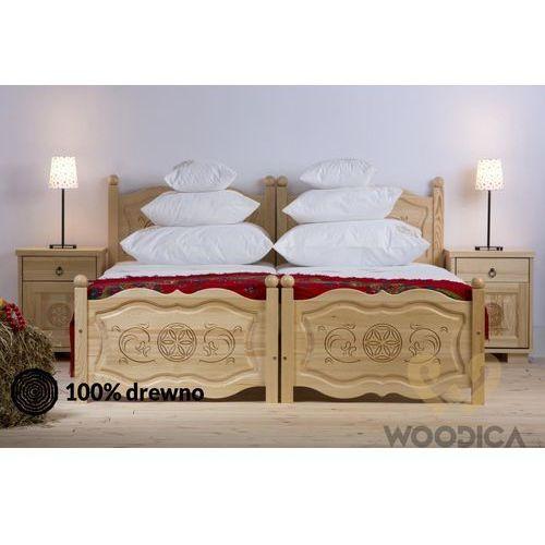 Woodica 29. łóżko góralskie 90x200
