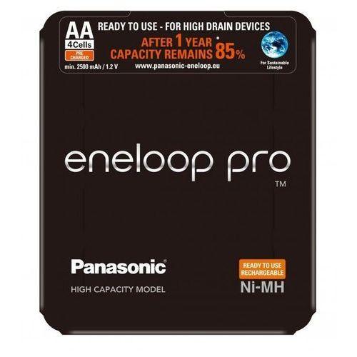 Panasonic akumulator pro aa 2500mah 4szt. slide pack