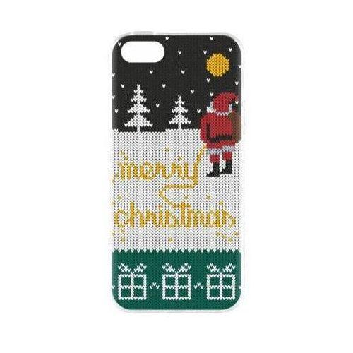 Flavr Etui case ugly xmas sweater yellow snow do apple iphone 5/5s/se wielokolorowy (27418) (4029948055428)