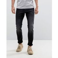 Esprit Skinny Fit Jeans In Black - Black, jeansy