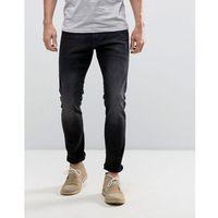Esprit Skinny Fit Jeans In Black - Black, kolor czarny