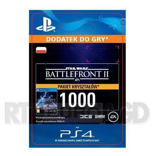 Star wars: battlefront ii - pakiet 1000 kryształów [kod aktywacyjny] marki Sony
