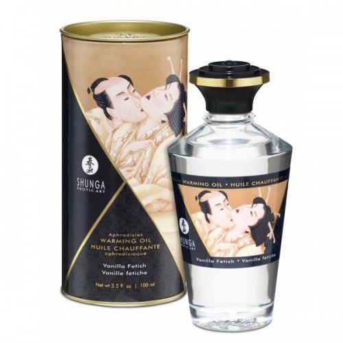 Shunga aphrodisiac oil vanilla fetish olejek do masażu 100 ml marki Shunga (can)