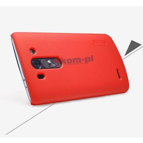 Etui Nillkin Frosted Shield LG G3 S Beat Czerwone - Czerwony