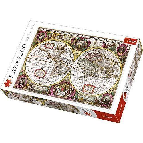 Puzzle Mapa Ziemi 1630 2000 (5900511270952)
