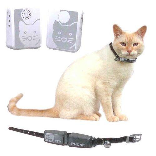 Kitty Phone Deluxe + elektroniczny dzwonek dla kota