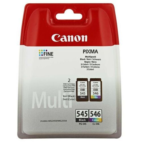 Canon Tusz PG-545/CL-546 MULTIPACK BLISTERED (8714574605517)