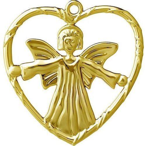 Dekoracja choinkowa karen blixen anioł w sercu złota (5709513325598)