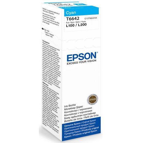 Epson Tusz t6642 cyan 70ml butelka do l100/110/200/210/300/355/550
