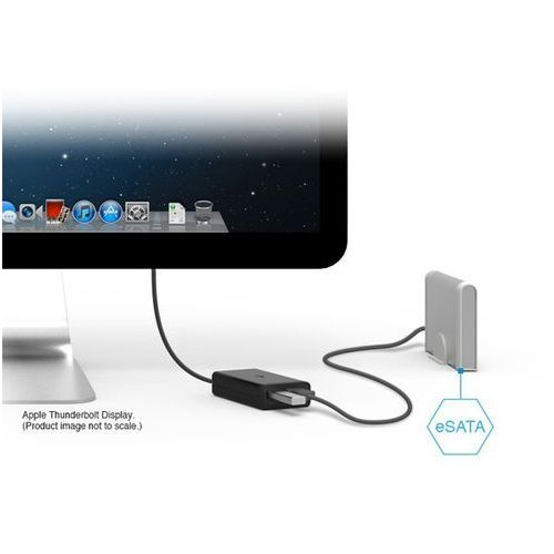 Kanex Thunderbolt to eSATA + USB 3.0 Adapter, KTU10