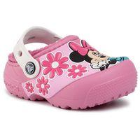 Klapki CROCS - Crocsfl Minnie Mouse Lnd Clg K 205954 Pink Lemonade