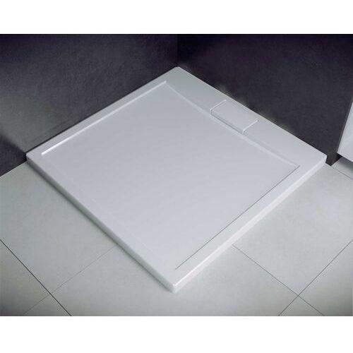 Besco Brodzik do kabiny prysznicowej, kwadratowy 90x90 axim