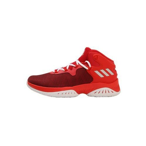 adidas Performance EXPLOSIVE BOUNCE Obuwie do koszykówki scarlet/silver metallic/coral red (4058025813309)