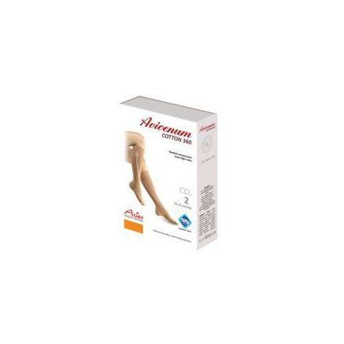 avicenum 360 cotton - podkolanówki przeciwżylakowe i przeciwobrzękowe z bawełną, Aries