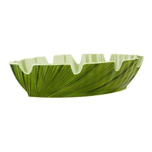 Miska liść z melaminy sztaplowana Natural Collection zielony APS-84082