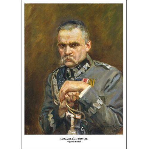 Plakat A3 - Portret Marszałka Józefa Piłsudskiego - Wojciech Kossak A3-GPlak1920-024