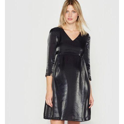Sukienka ciążowa, efekt metaliczny, R essentiel