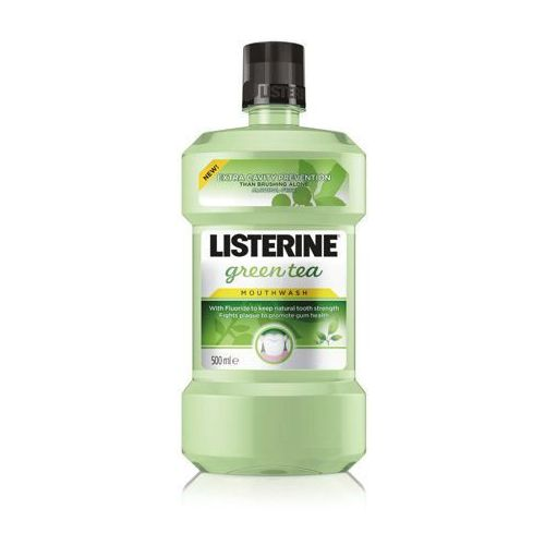 Listerine green tea płyn do plukania jamy ustnej 500ml marki Johnson&johnson