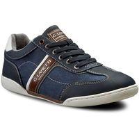 Półbuty GINO LANETTI - MP07-16233-01 Jeansowy, kolor niebieski