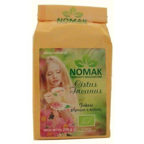 herbata z czystka bio (cistus incanus l.) - 200 g NOMAK (5903240731022)