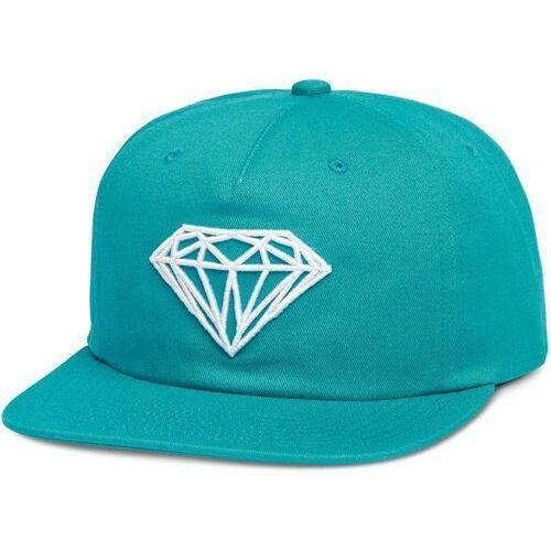 Czapka z daszkiem - brilliant unstructured snapbac blue (blu) rozmiar: os marki Diamond