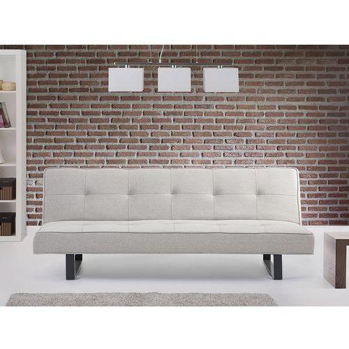 Beliani Luksusowa sofa kanapa derby białoszary