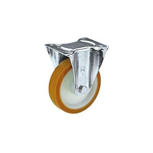 Opony poliuretanowe na feldze poliamidowej,Ø x szer. kółka 125 x 38 mm, nośność 200 kg marki Wicke