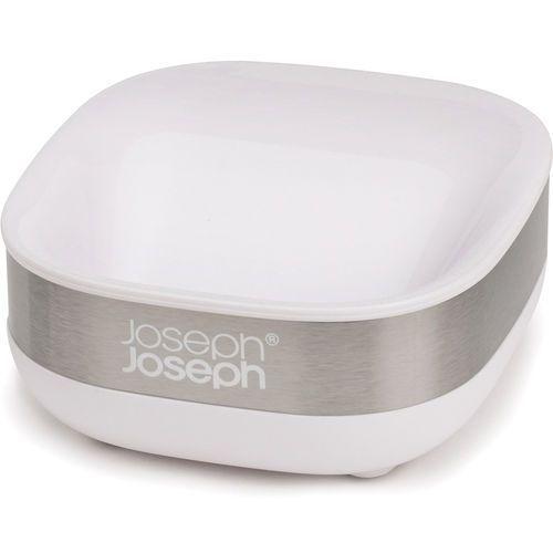 Mydelniczka slim biało-stalowa (70533) marki Joseph joseph
