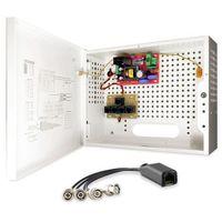 BCS-A4/E Zestaw zasilania i transmisji wideo dla 4 kamer analogowych lub HD-CVI