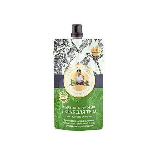 Pierwoje reszenie, rosja Babuszka agafia mydlano-brzozowy głęboko oczyszczający scrub do ciała (łaźnia agafii) 100ml