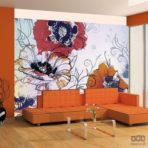Fototapeta delikatny motyw kwiatowy 100405-58 outlet marki Murando