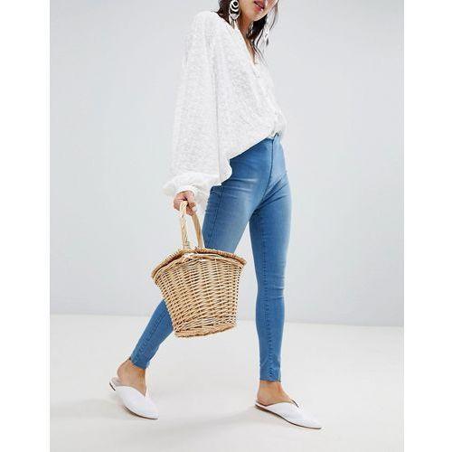 easy goes it skinny jeans - blue marki Free people