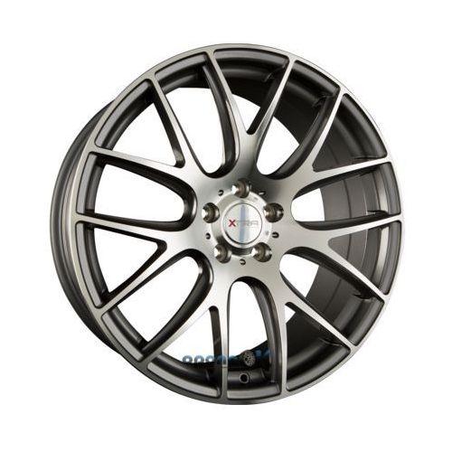 Xtra wheels sw5 gunmetal voll poliert einteilig 8.00 x 17 et 35