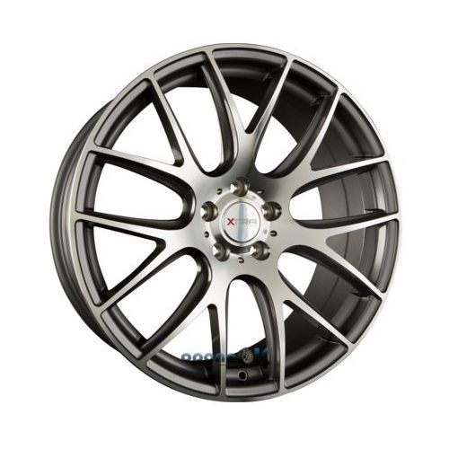 Xtra wheels sw5 gunmetal voll poliert einteilig 8.50 x 20 et 35
