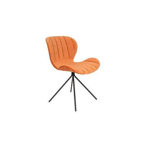 Zuiver Krzesło OMG pomarańczowe 1100367, kolor pomarańczowy