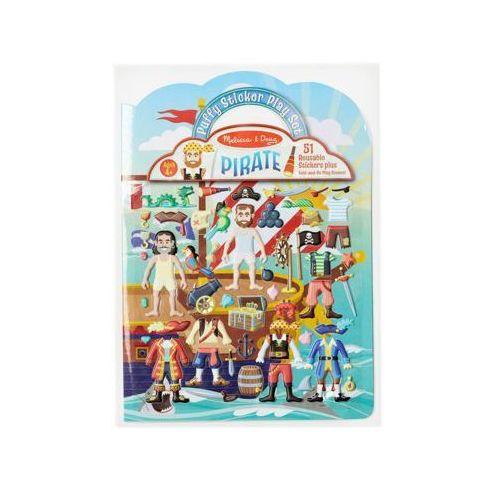 Melissa & doug Gra z naklejkami puffy stickers - piraci 19102 (0000772191029)