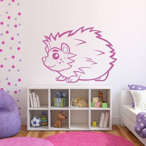 Wally - piękno dekoracji Szablon do malowania dla dzieci jeż 2407