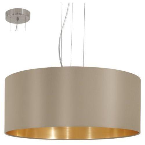 Lampa wisząca maserlo ciemnoszara 53 cm, 31607 marki Eglo