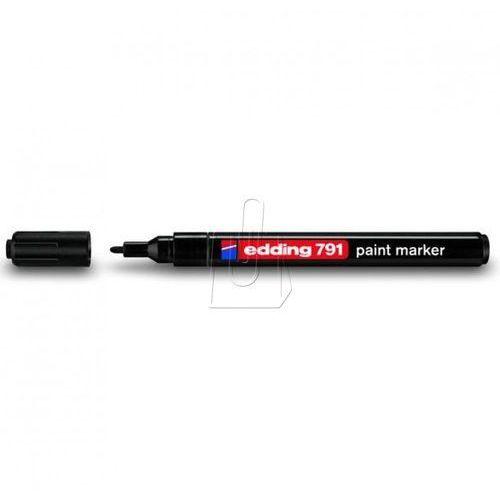 marker lakierowy z okrągłą końcówką edding 791 czarny - wikr-979881 darmowy odbiór w 21 miastach! marki Edding