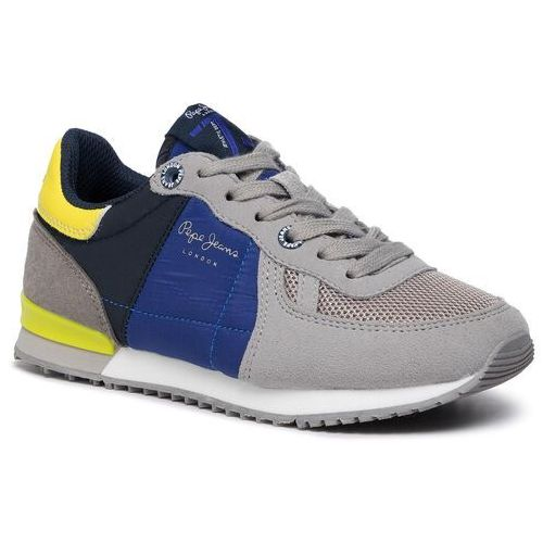 Sneakersy PEPE JEANS - Sydney Basic Aw19 PBS30420 Grey Marl 933, kolor szary