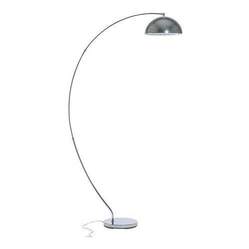 Lampa stojąca srebrna - podłogowa - oświetlenie - kama marki Beliani