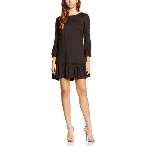 Sukienka r-gathered hem dress 3/4s dla kobiet, kolor: czarny, rozmiar: md, Calvin klein jeans