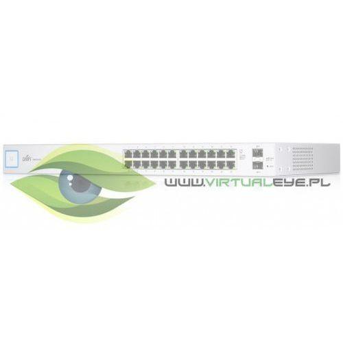 UBIQUITI Przełącznik UniFi Switch 24x1GbE 2xSFP US-24, 1_646567