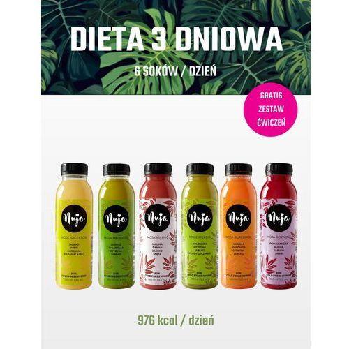 Dieta detoksykująca 3 dniowa / Dieta sokowa / Detoks sokowy (5905669102896)