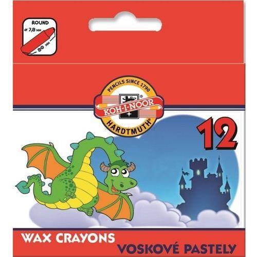 Kredki świecowe 8232 12 kolorów marki Koh-i-noor