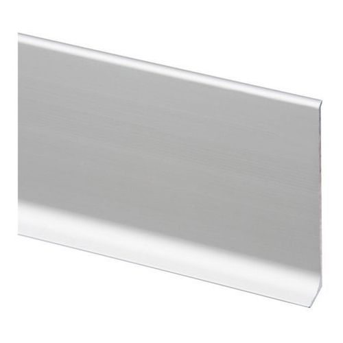 Cezar Listwa przypodłogowa aluminiowa lp80 2 5 m srebrna