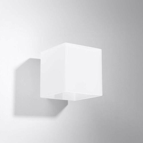 Kinkiet lampa ścienna rico 1x40w g9 biały sl.0212 >>> rabatujemy do 20% każde zamówienie!!! marki Sollux